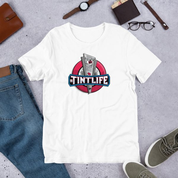 White Red Dot - #Tintlife Graphic T-Shirt