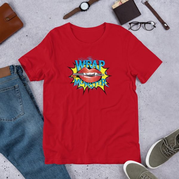 Red Wrap Monster Graphic T-Shirt