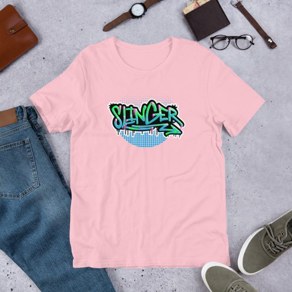 Pink Slinger - Graffiti Edition Graphic T-Shirt