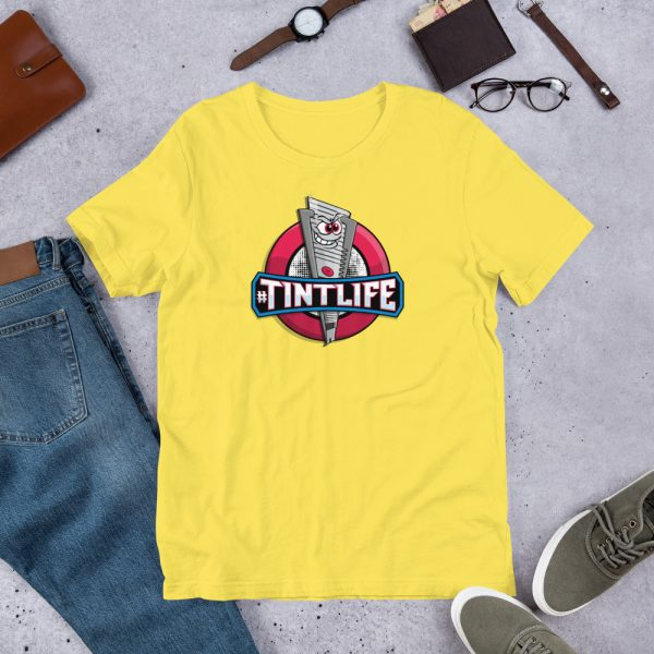 Yellow Red Dot - #Tintlife Graphic T-Shirt