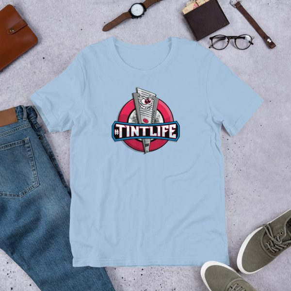 Light Blue Red Dot - #Tintlife Graphic T-Shirt