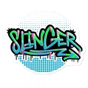 Slinger - Vinyl Sticker