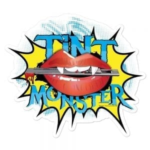 Tint Monster Vinyl Sticker